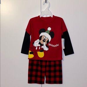 mickey christmas PJS